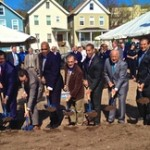 ALL GUYS WITH SHOVELS MTC GROUNDBREAKING