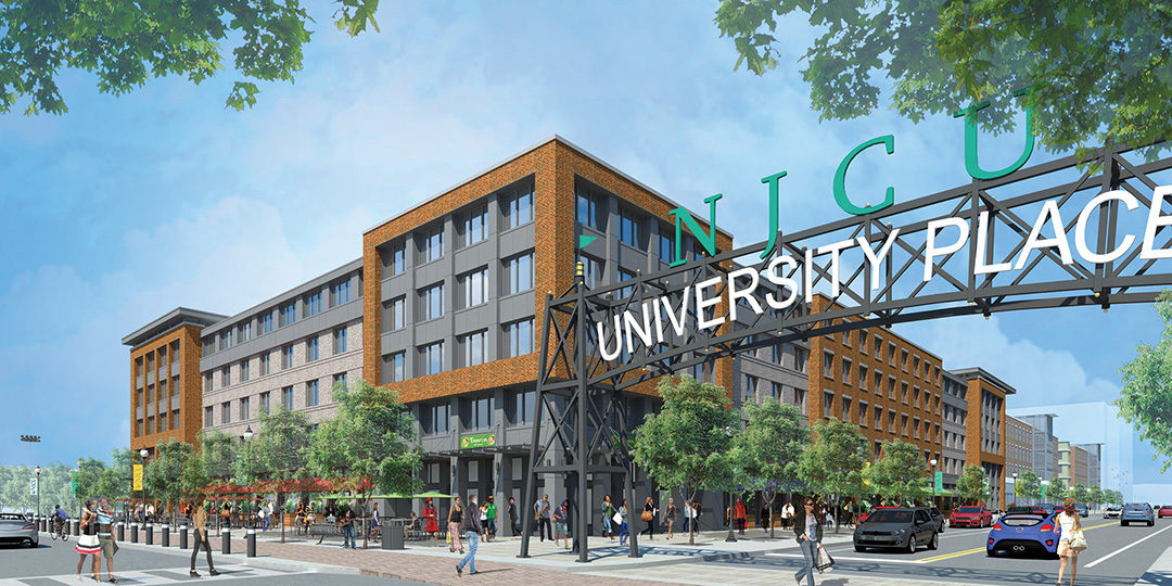 Groundbreaking of University Place